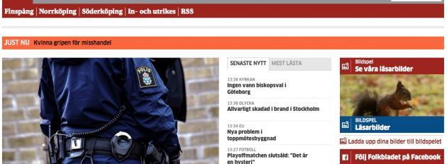 Folkbladet rusar på KIA-index