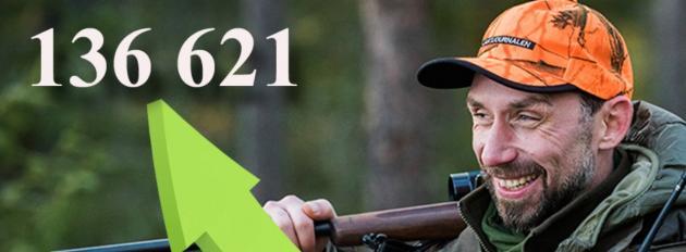 Besöksrekord för Jaktjournalen.se